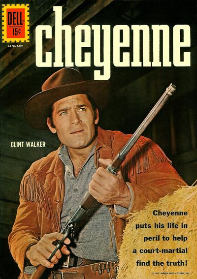 Cover for Cheyenne (Dell, 1957 series) #25
