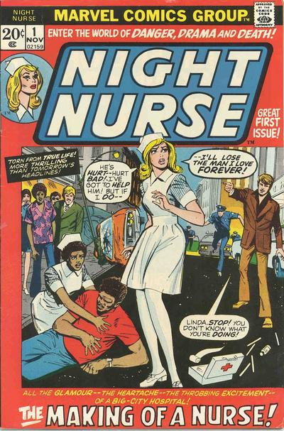 Cover for Night Nurse (Marvel, 1972 series) #1