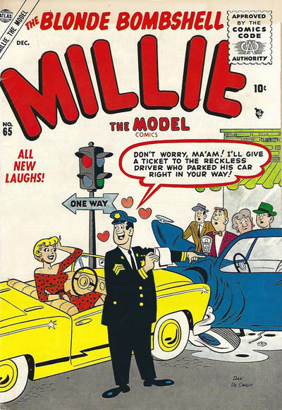 Cover for Millie the Model Comics (Marvel, 1945 series) #65