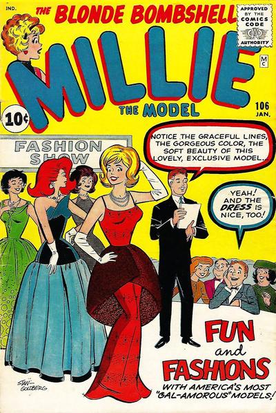 Cover for Millie the Model Comics (Marvel, 1945 series) #106