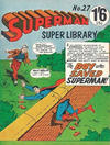 Cover for Superman Super Library (K. G. Murray, 1964 series) #27