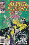 Cover for Alpha Flight (Marvel, 1983 series) #14 [Canadian]