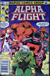 Cover Thumbnail for Alpha Flight (1983 series) #2 [Canadian Newsstand Edition]