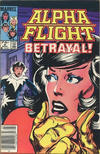 Cover for Alpha Flight (Marvel, 1983 series) #8 [Canadian]