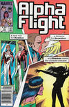 Cover Thumbnail for Alpha Flight (1983 series) #18 [Canadian Newsstand Edition]