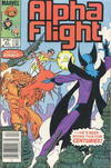 Cover Thumbnail for Alpha Flight (1983 series) #21 [Canadian Newsstand Edition]