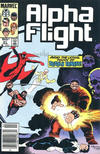 Cover Thumbnail for Alpha Flight (1983 series) #31 [Canadian Newsstand Edition]