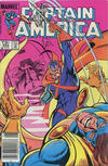 Cover for Captain America (Marvel, 1968 series) #294 [Canadian Newsstand Edition]