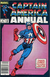 Cover Thumbnail for Captain America Annual (1971 series) #7 [Canadian]