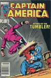 Cover Thumbnail for Captain America (1968 series) #291 [Canadian Newsstand Edition]