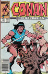 Cover for Conan the Barbarian (Marvel, 1970 series) #161 [Canadian Newsstand Edition]