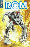 Cover Thumbnail for ROM (2016 series) #1 [Subscription Cover A (Z. Howard) Variant]