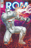 Cover for ROM (IDW, 2016 series) #1 [RI-A Cover - Michael Golden]