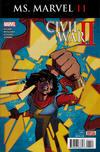 Cover for Ms. Marvel (Marvel, 2016 series) #11