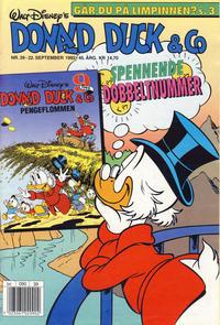 Cover Thumbnail for Donald Duck & Co (Hjemmet / Egmont, 1948 series) #39/1992