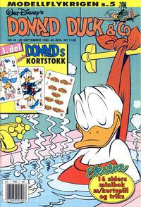 Cover Thumbnail for Donald Duck & Co (Hjemmet / Egmont, 1948 series) #40/1992