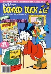 Cover Thumbnail for Donald Duck & Co (Hjemmet / Egmont, 1948 series) #43/1992