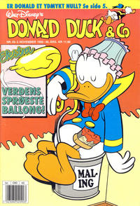 Cover Thumbnail for Donald Duck & Co (Hjemmet / Egmont, 1948 series) #45/1992