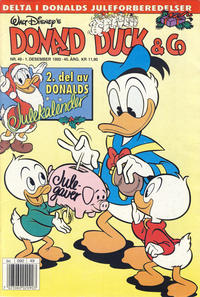 Cover Thumbnail for Donald Duck & Co (Hjemmet / Egmont, 1948 series) #49/1992
