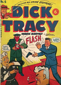 Cover Thumbnail for Dick Tracy (Streamline, 1953 series) #6