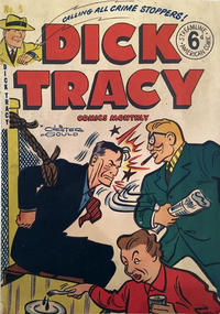 Cover Thumbnail for Dick Tracy (Streamline, 1953 series) #5