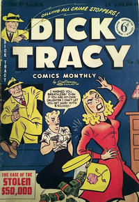 Cover Thumbnail for Dick Tracy (Streamline, 1953 series) #2