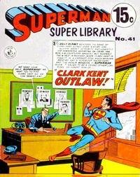 Cover Thumbnail for Superman Super Library (K. G. Murray, 1964 series) #41