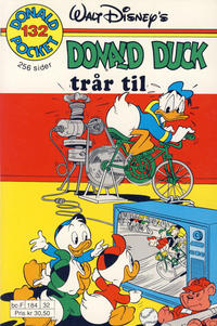 Cover Thumbnail for Donald Pocket (Hjemmet / Egmont, 1968 series) #132 - Donald Duck trår til [1. opplag]