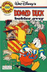 Cover Thumbnail for Donald Pocket (Hjemmet / Egmont, 1968 series) #133 - Donald Duck bobler over [1. opplag]