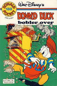 Cover Thumbnail for Donald Pocket (Hjemmet / Egmont, 1968 series) #133 - Donald Duck bobler over [Reutsendelse]