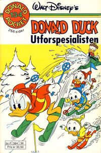 Cover Thumbnail for Donald Pocket (Hjemmet / Egmont, 1968 series) #134 - Donald Duck utforspesialisten [Reutsendelse]