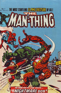 Cover Thumbnail for The Man-Thing (Yaffa / Page, 1980 series) #7