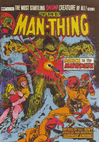 Cover Thumbnail for The Man-Thing (Yaffa / Page, 1980 series) #4