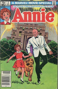Cover Thumbnail for Annie (Marvel, 1982 series) #2 [Canadian]