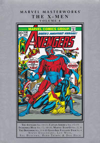 Cover Thumbnail for Marvel Masterworks: The X-Men (Marvel, 2003 series) #8 [Regular Edition]