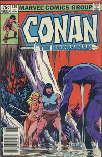 Cover for Conan the Barbarian (Marvel, 1970 series) #149 [Direct Edition]