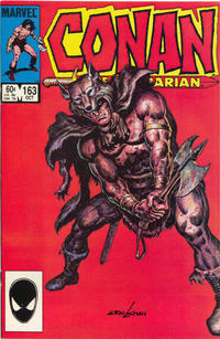 Cover Thumbnail for Conan the Barbarian (Marvel, 1970 series) #163 [Direct Edition]