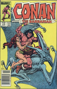 Cover Thumbnail for Conan the Barbarian (Marvel, 1970 series) #176 [Canadian Newsstand Edition]