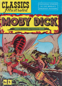 Cover Thumbnail for Classics Illustrated (I Classici, 1996 ? series) #5 - Moby Dick