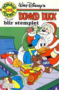 Cover Thumbnail for Donald Pocket (Hjemmet / Egmont, 1968 series) #135 - Donald Duck blir stemplet [1. opplag]