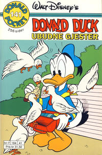 Cover Thumbnail for Donald Pocket (Hjemmet / Egmont, 1968 series) #141 - Ubudne gjester [1. opplag]