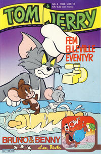 Cover Thumbnail for Tom & Jerry (Semic, 1979 series) #4/1984