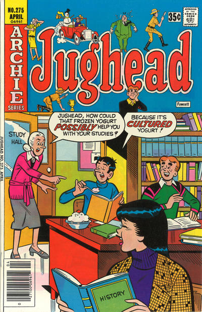 Cover for Jughead (Archie, 1965 series) #275