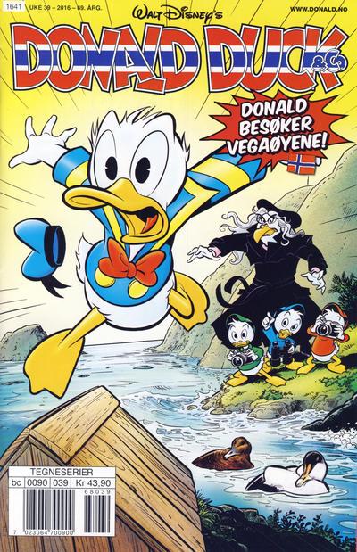 Cover for Donald Duck & Co (Hjemmet / Egmont, 1948 series) #39/2016
