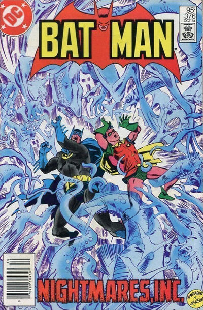 Cover for Batman (DC, 1940 series) #376 [Direct Edition]