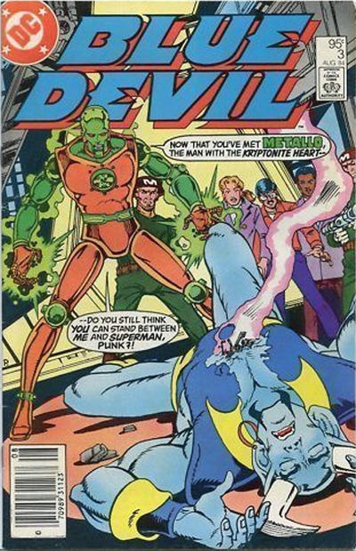 Cover for Blue Devil (DC, 1984 series) #3 [Newsstand]