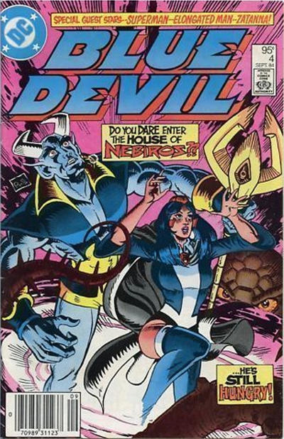 Cover for Blue Devil (DC, 1984 series) #4 [Newsstand]