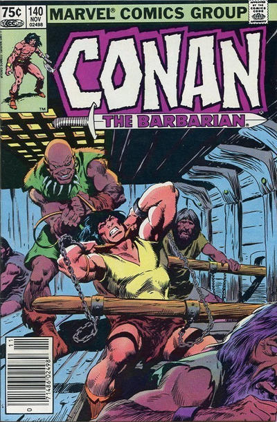 Cover for Conan the Barbarian (Marvel, 1970 series) #140 [Direct Edition]