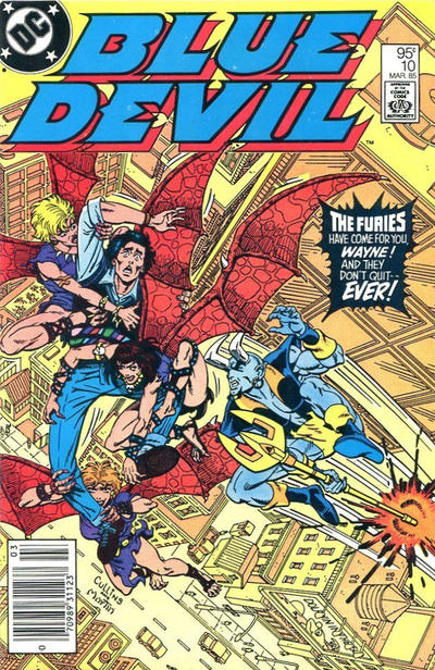 Cover for Blue Devil (DC, 1984 series) #10 [Direct Edition]
