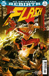 Cover for The Flash (DC, 2016 series) #7 [Dave Johnson Variant Cover]